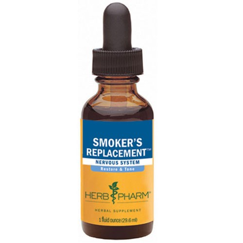 Smoker's Replacement 1 fl oz by Herb Pharm