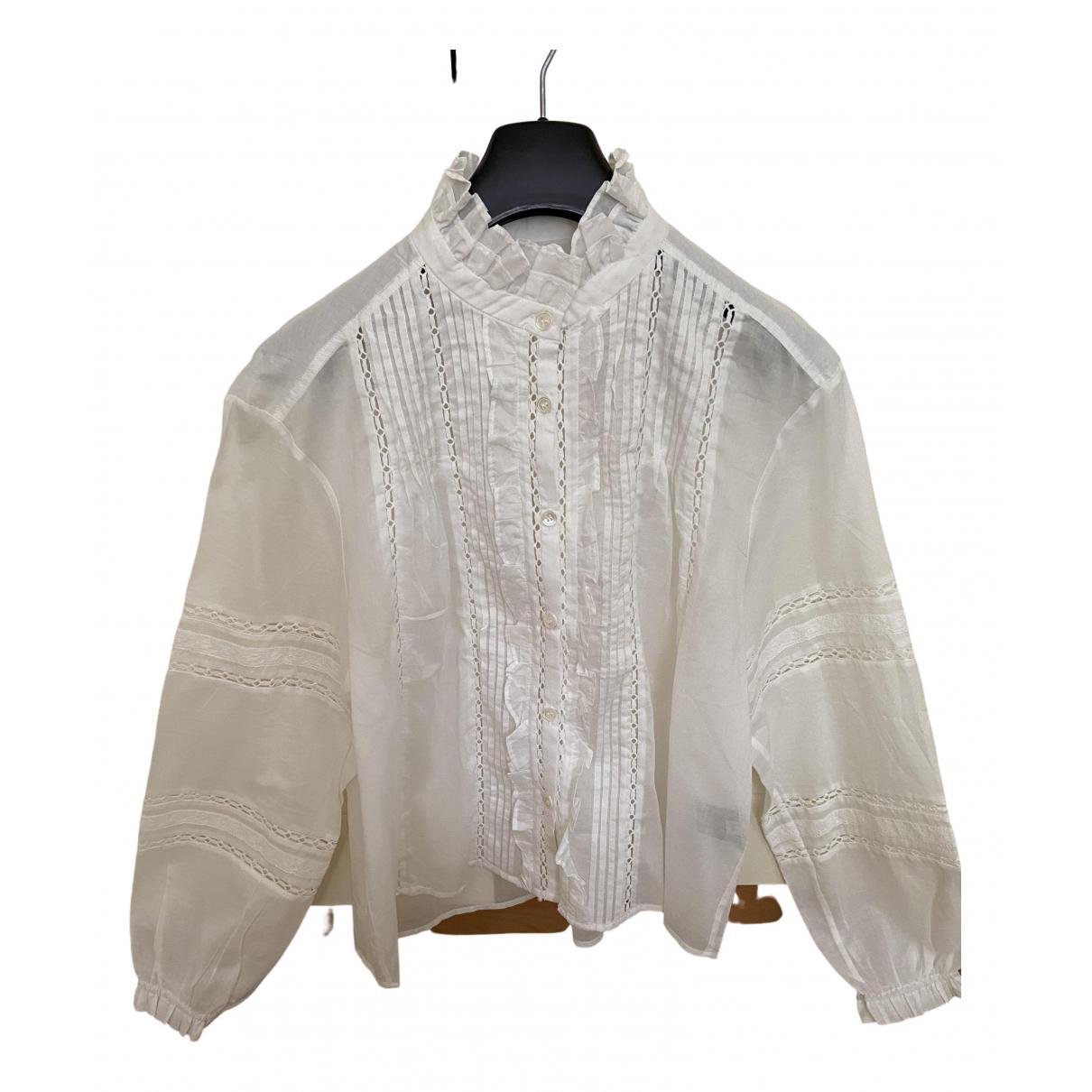 Isabel Marant Etoile \N White Cotton  top for Women 36 FR