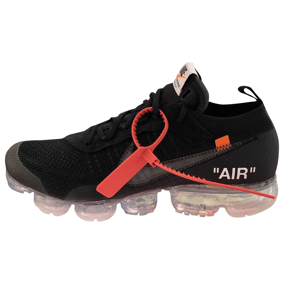 Nike X Off-white Vapormax Black Cloth Trainers for Men 11 US
