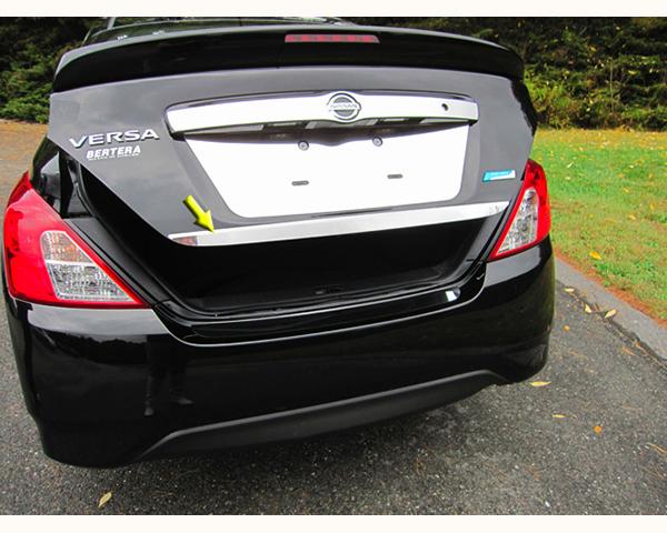 Quality Automotive Accessories 1.5-Inch Width Rear Deck Trim Nissan Versa 2014