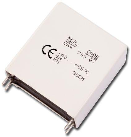 KEMET 30μF Polypropylene Capacitor PP 600V dc ±5% Tolerance Through Hole C4AE Series