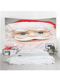 Cartoon Santa Claus Wall Tapestry Christmas Home Decoration Wall Decorations