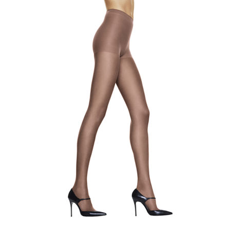 Hanes Silk Reflections Silky Sheer Control-Top Reinforced Toe Pantyhose, Cd , No Color Family