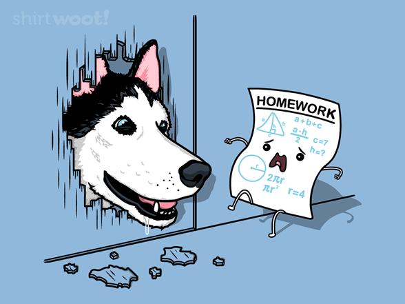 Homework Panic! T Shirt