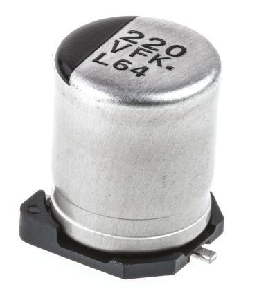 Panasonic 220μF Electrolytic Capacitor 35V dc, Surface Mount - EEEFK1V221GP (5)