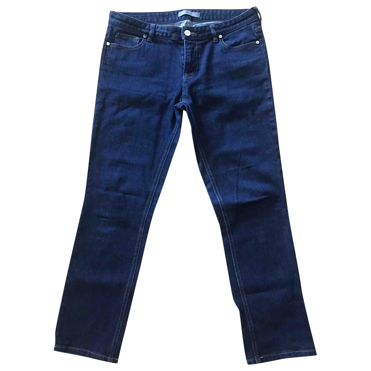 Bally \N Blue Denim - Jeans Trousers for Women 44 IT