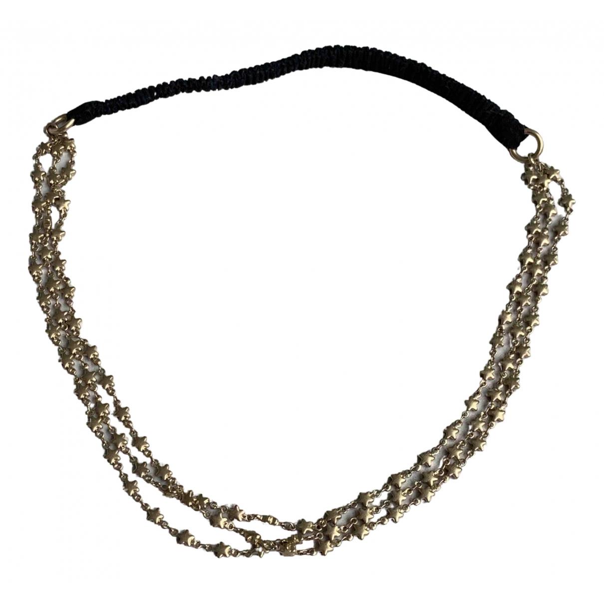 Maison Michel \N Gold Metal Hair accessories for Women \N