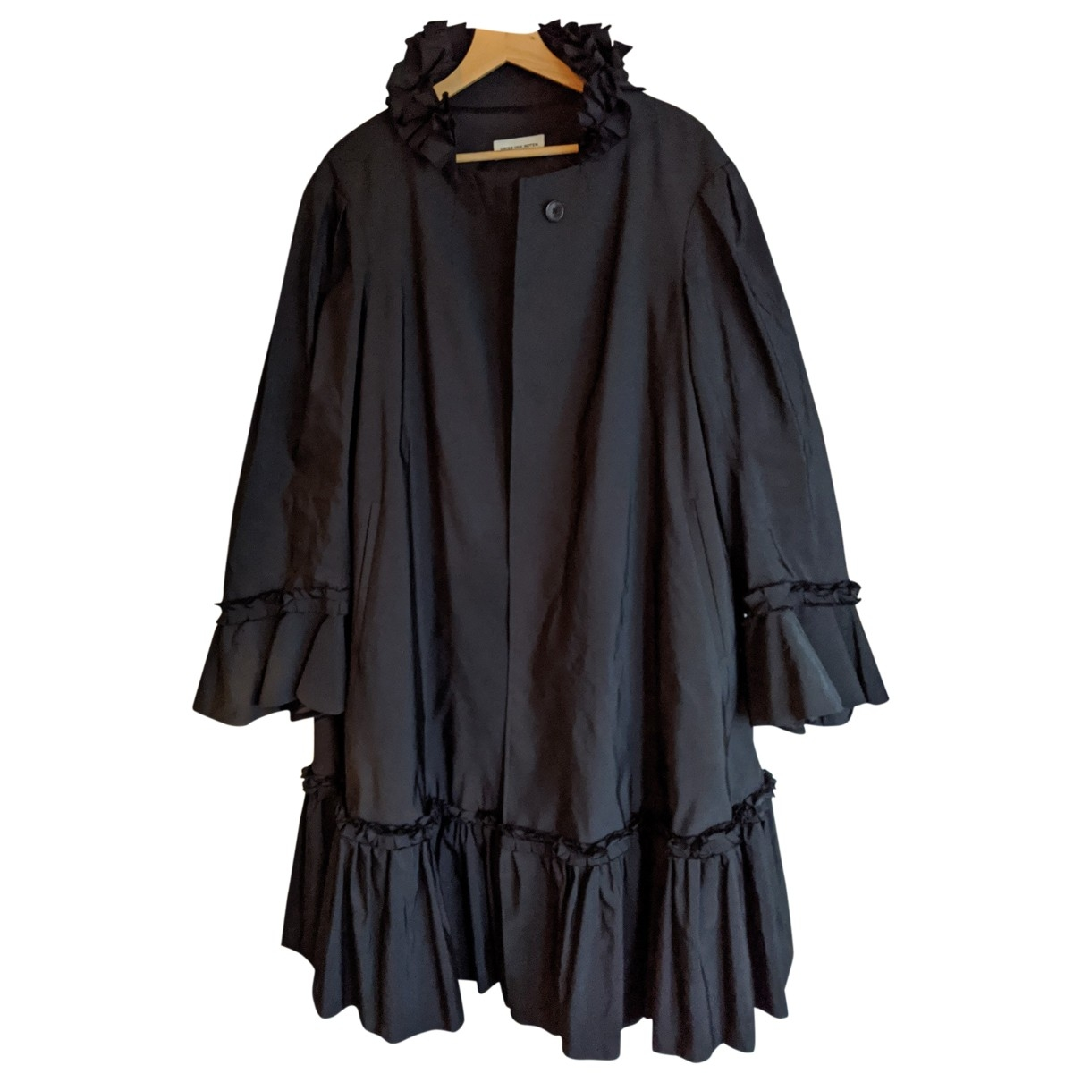 Dries Van Noten \N Black coat for Women S International