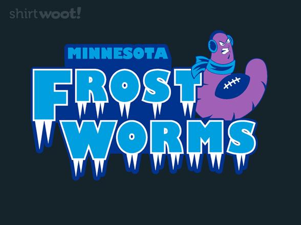 Minnesota Frost Worms T Shirt