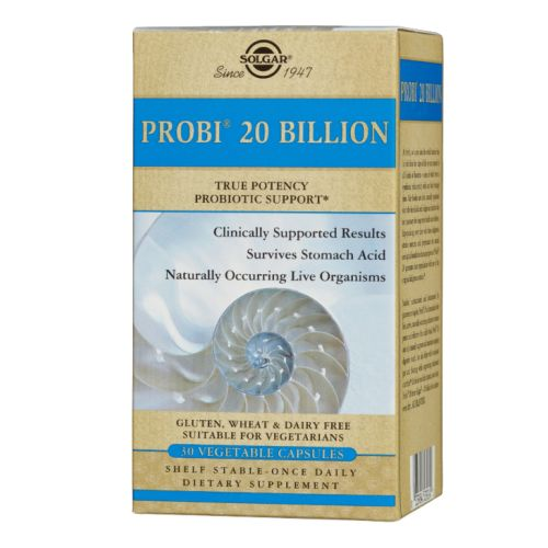 Probi - 20 Billion 30 VCaps by Solgar