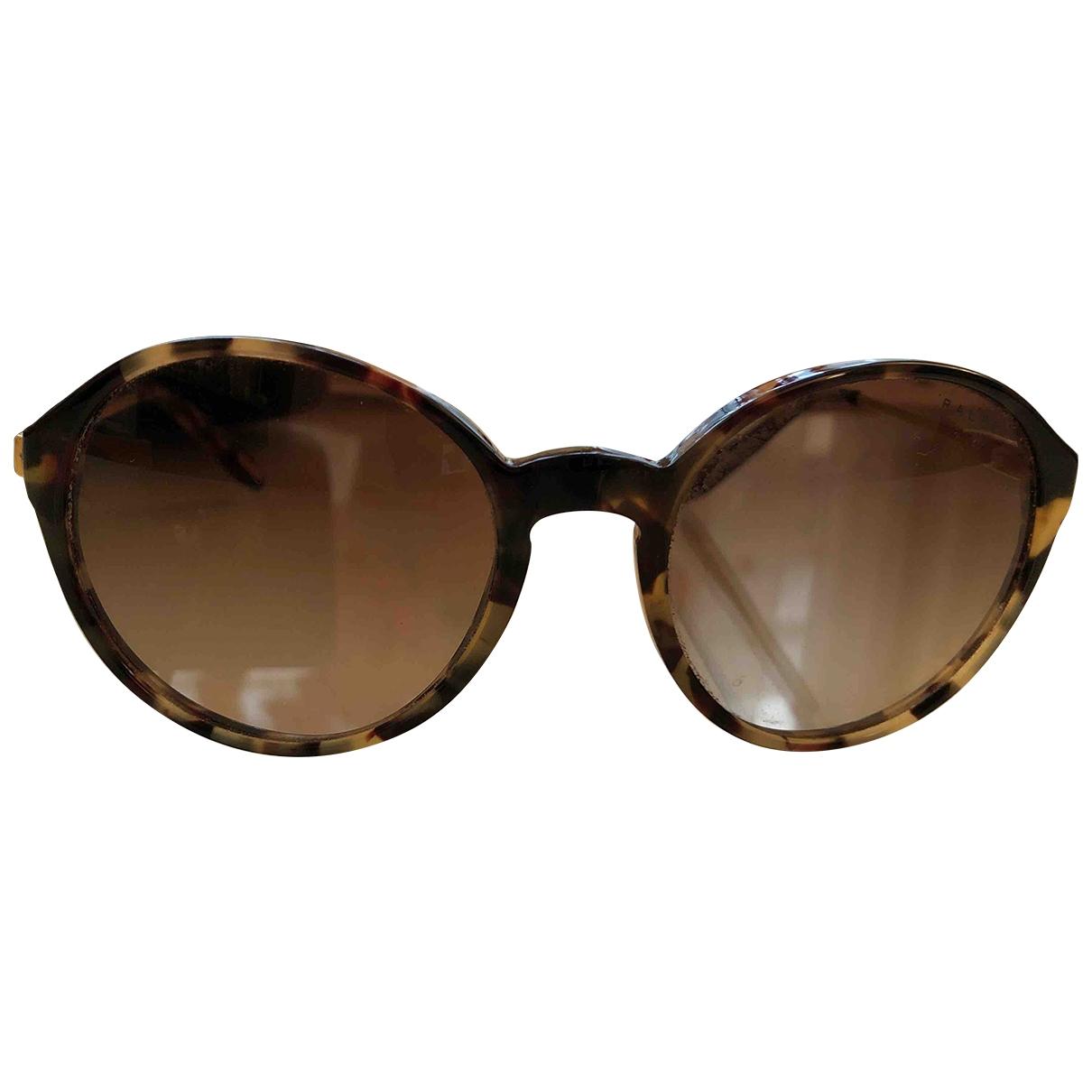 Ralph Lauren Double Rl \N Brown Sunglasses for Women \N
