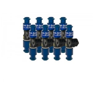 Fuel Injector Clinic IS406-1650H 1650cc (160 lbs/hr at 43.5 PSI fuel pressure) Injector Set Ford 1985-2003