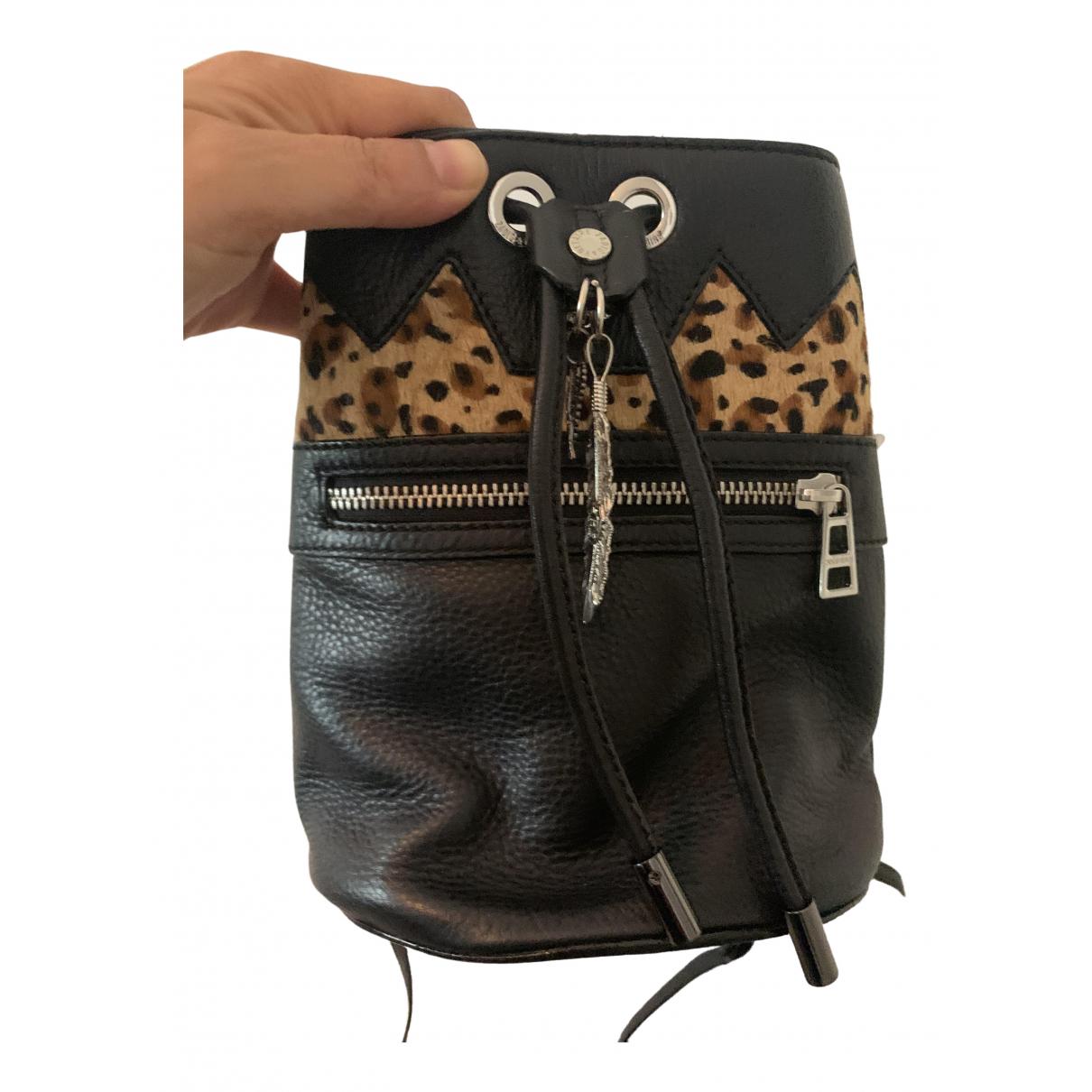 Zadig & Voltaire \N Black Leather handbag for Women \N