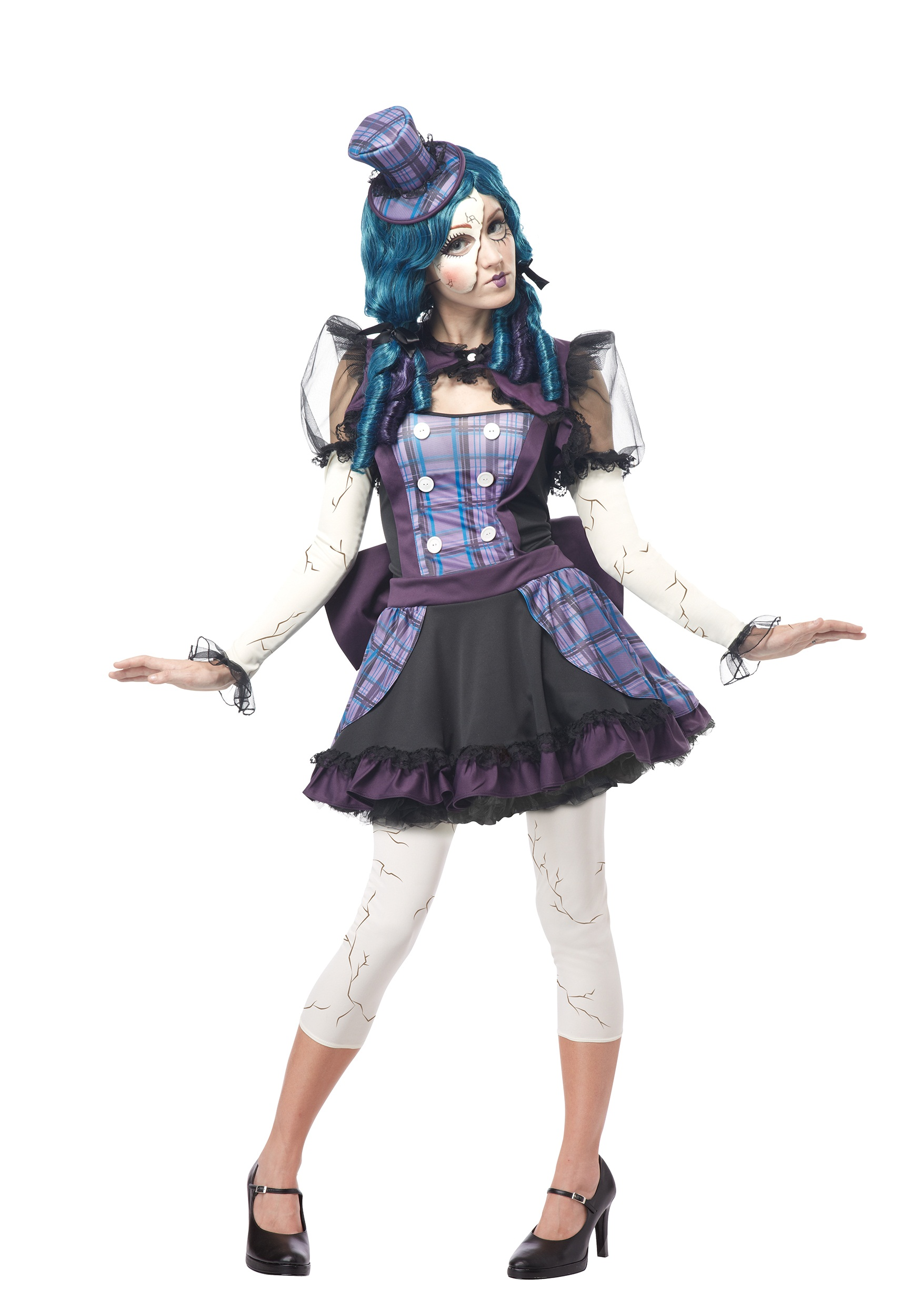 Broken Doll Costume for adults