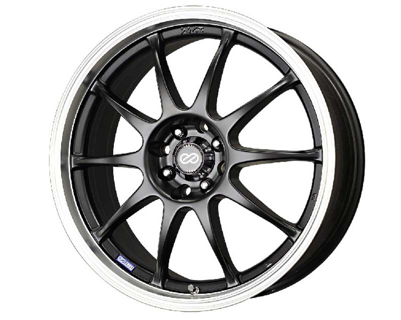 Enkei J10 Wheel Performance Series Black 15x6.5 5x100/114.3 38mm