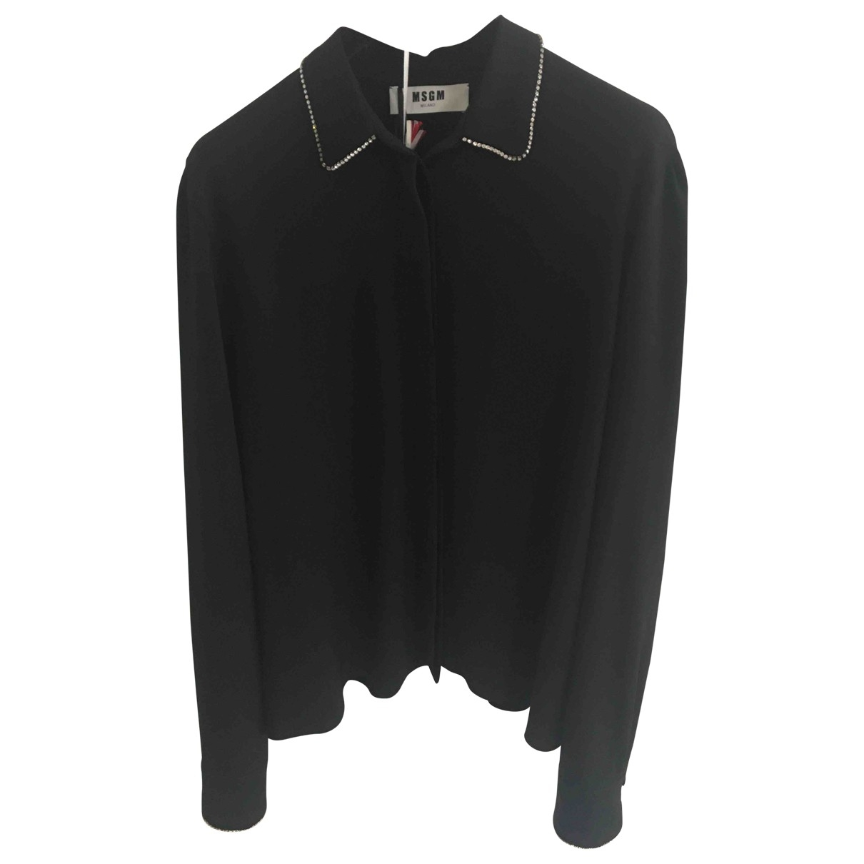 Msgm \N Black  top for Women 44 IT