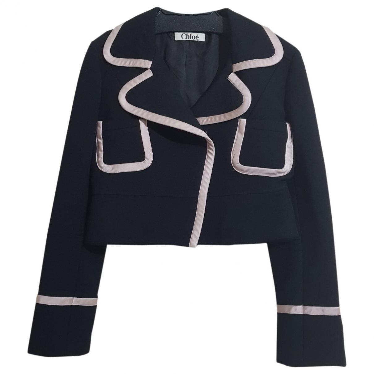 Chloé \N Black Wool jacket for Women XS International