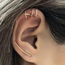 3pcs Geo Design Earrings