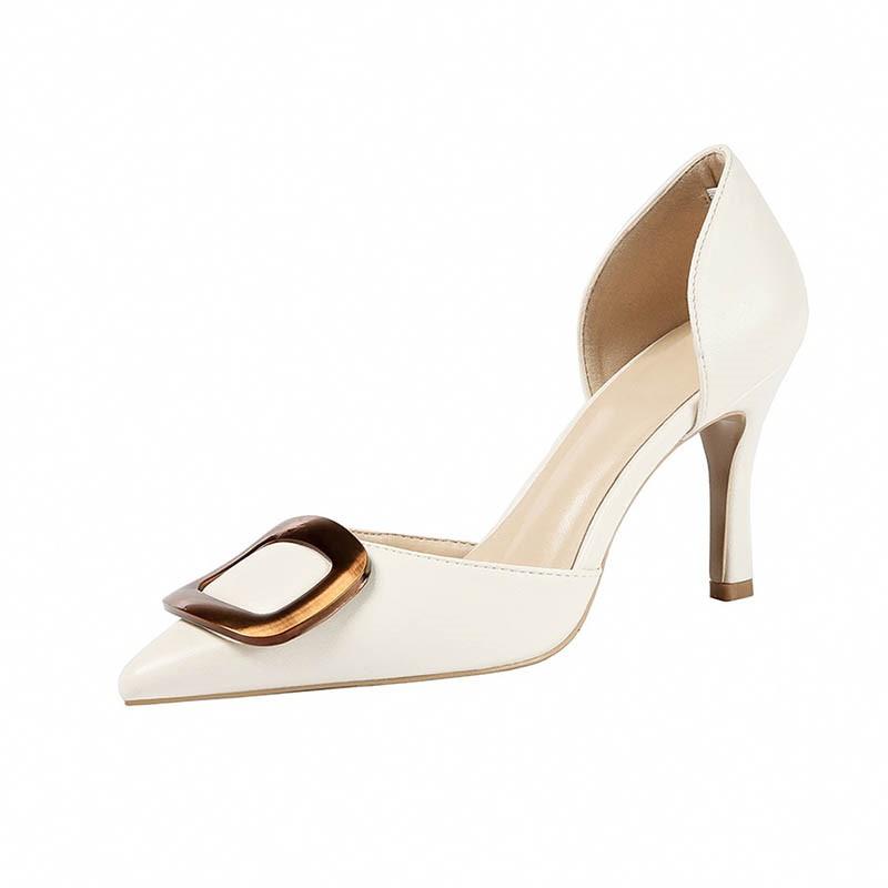 Ericdress Pointed Toe Stiletto Heel Slip-On Women's Sexy Pumps