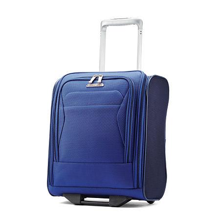 Samsonite Eco-Move Wheeled Underseat Carry-On Luggage, One Size , Blue