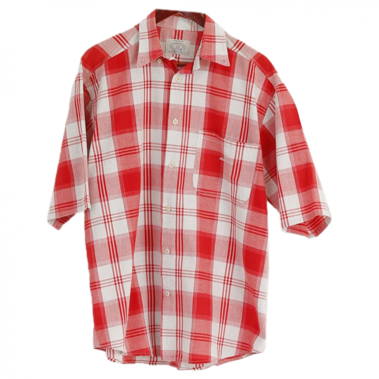 Armani Jeans \N Red Cotton Shirts for Men L International