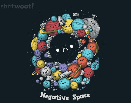 A Negative Space T Shirt