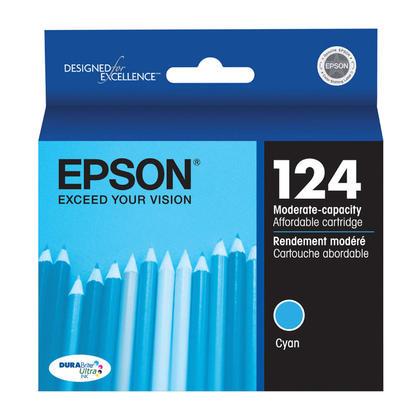 Epson T124220 cartouche d'encre originale cyan