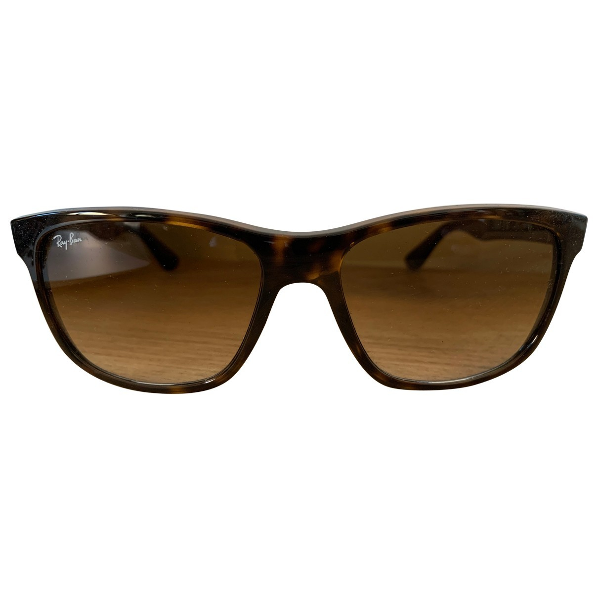 Ray-ban Rectangle  Brown Sunglasses for Women \N