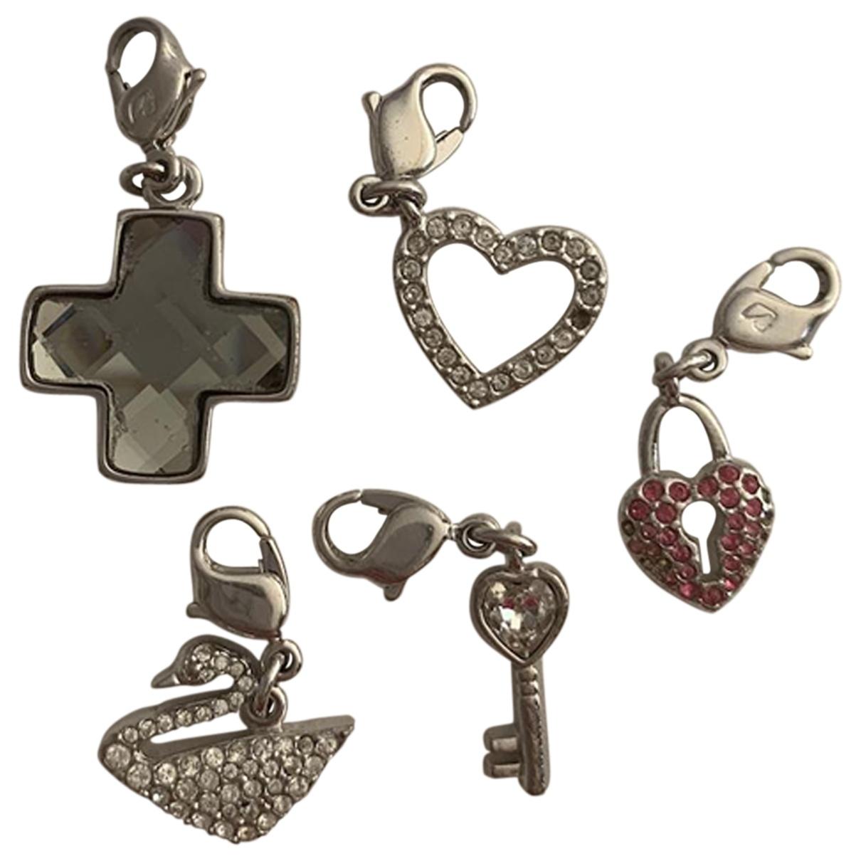 Swarovski \N Silver Steel pendant for Women \N