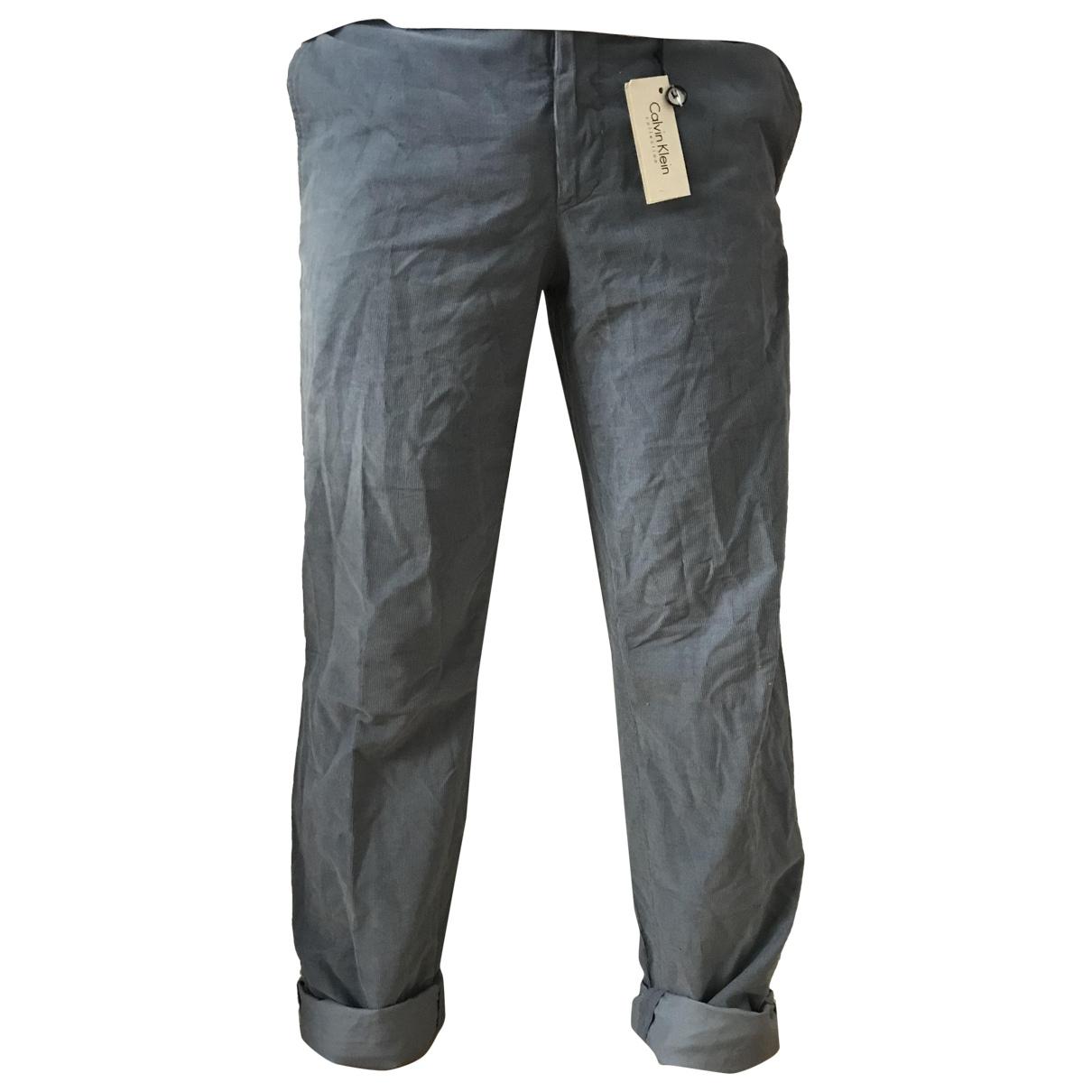Dior Homme \N Blue Cotton Jeans for Men 40 FR