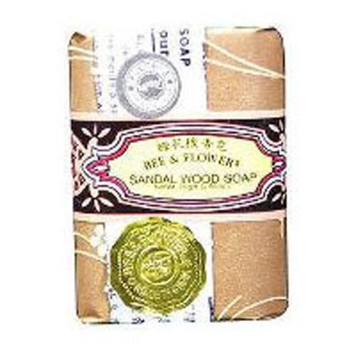 Bar Soap Sandalwood 2.65 oz by BEE & FLOWER SOAP