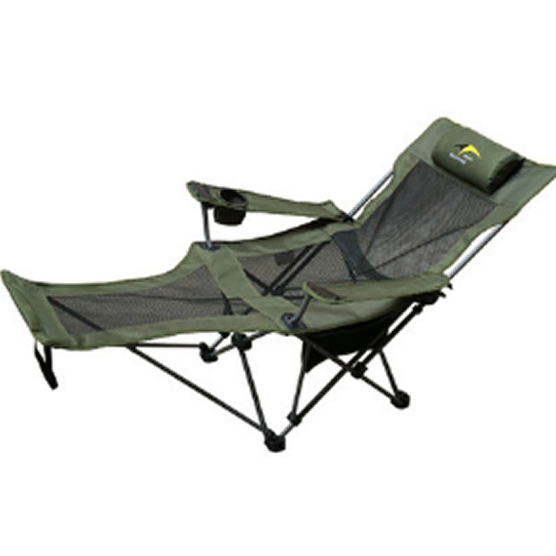 Reclining Chair with Headrest Lightweight Foldable Portable for Camping