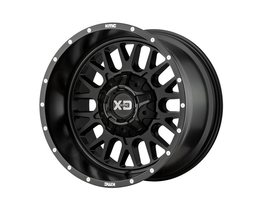 XD Series XD84221035718N XD842 Snare Wheel 20x10 5x5x127/5x139.7 -18mm Satin Black