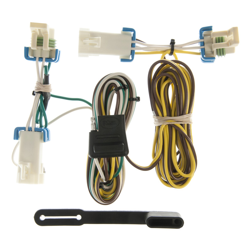 Curt 55383 Custom Wiring Harness (4-Way Flat Output)