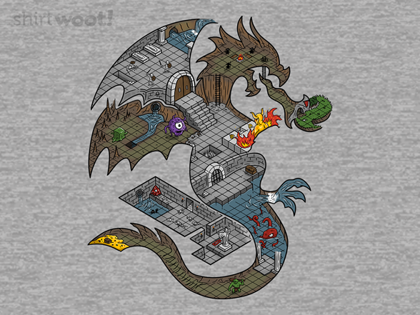 Dungeons In Dragons T Shirt