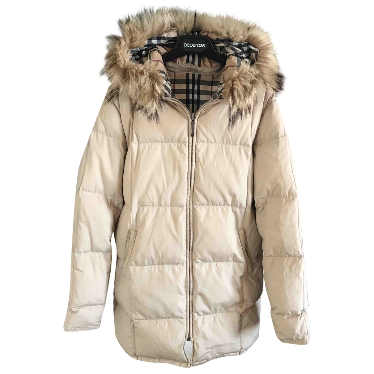 Burberry \N Beige jacket for Women 42 IT