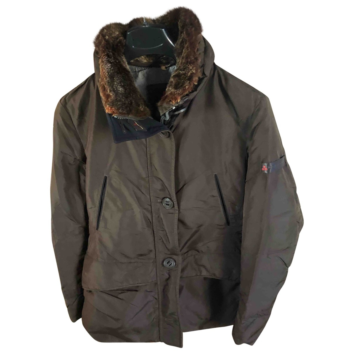 Peuterey \N Brown jacket for Women 46 IT
