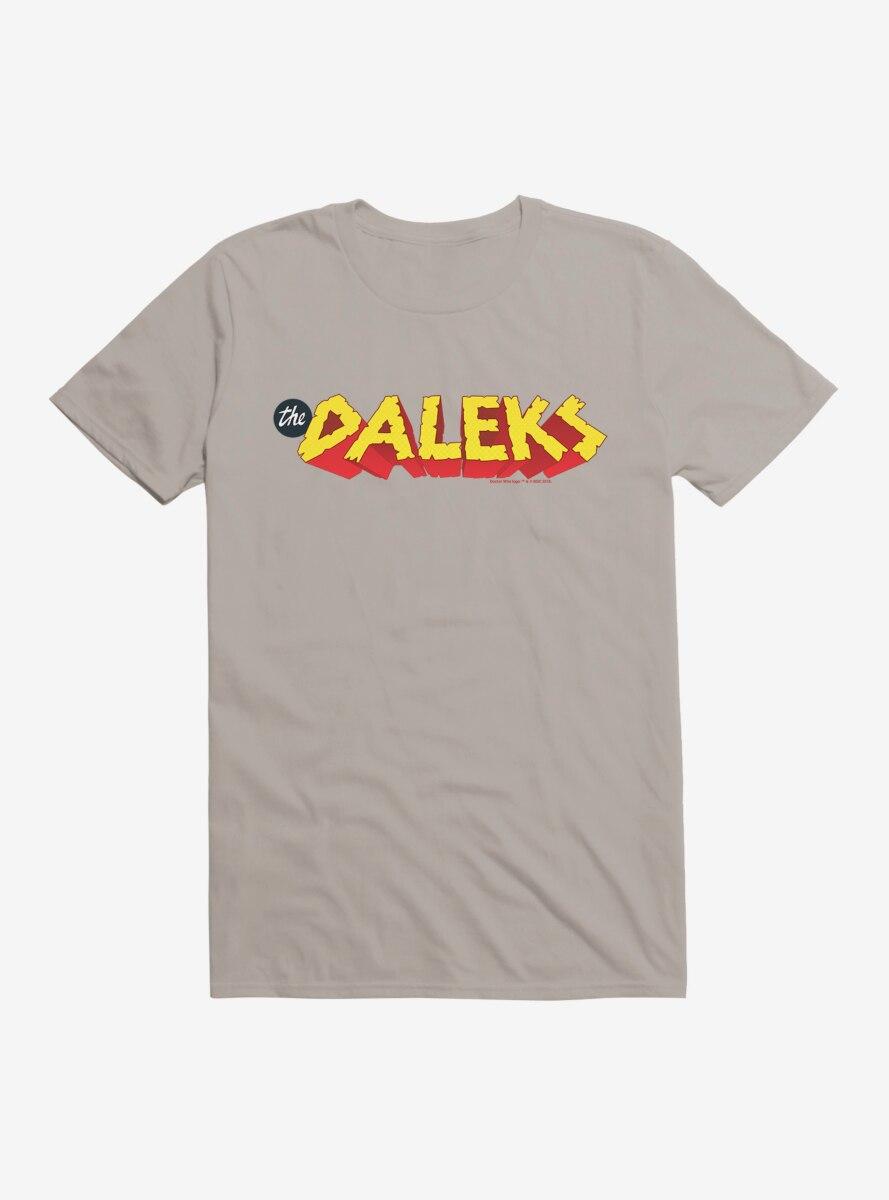 Doctor Who The Daleks Rock Boulder Script T-Shirt
