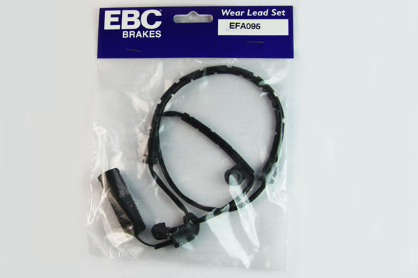 EBC Brakes EFA095 Wear Leads Front Disc Brake Pad Wear Sensor FMSI D946 BMW Z4 Front 2006-2008