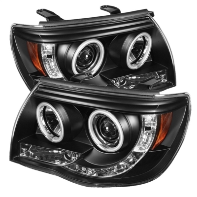 Spyder Auto Group CCFL LED Projector Headlights (Black) - 5030283