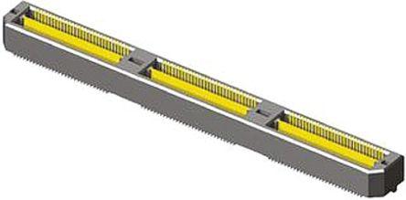 Samtec , Q Strip QTH, 180 Way, 2 Row, Straight PCB Header