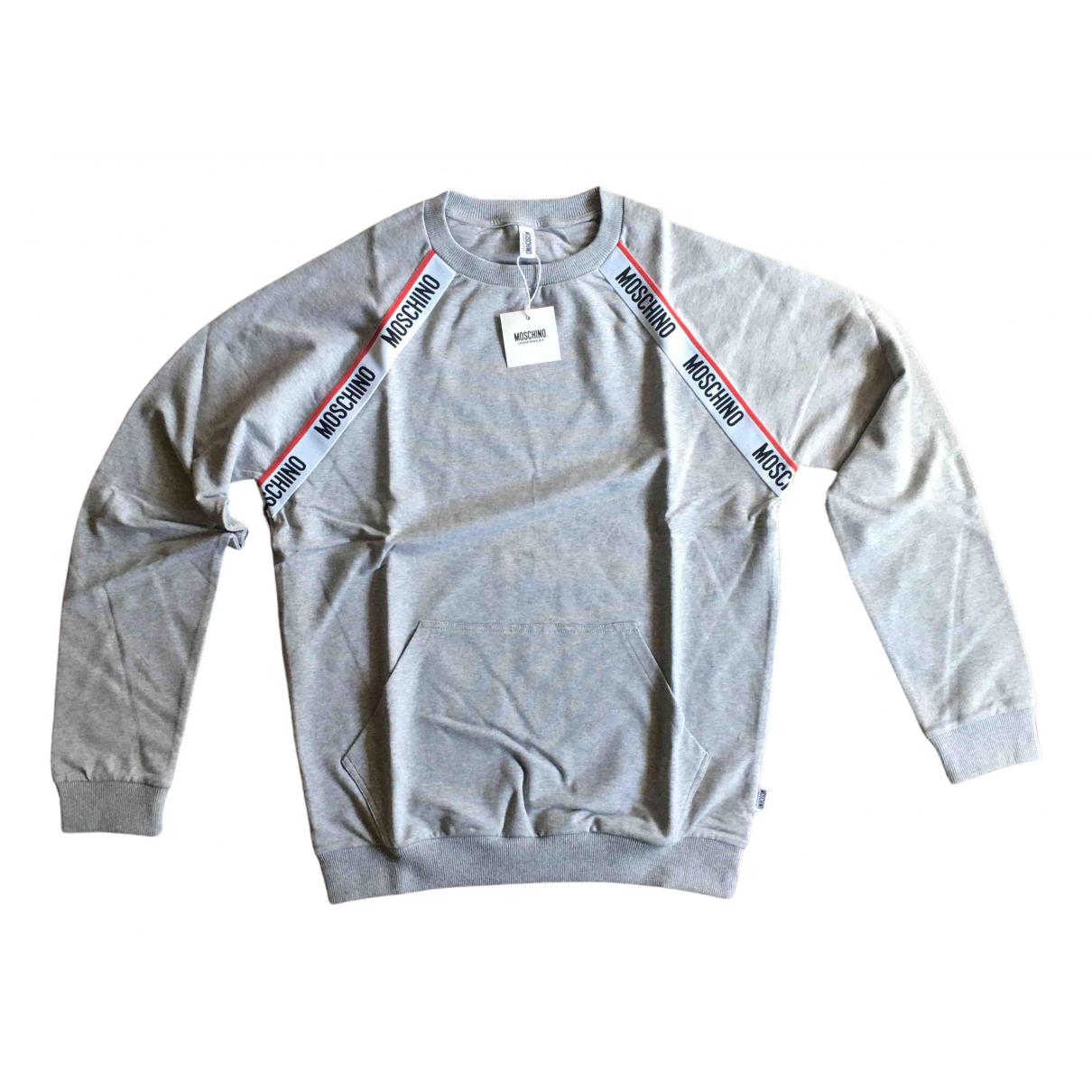 Moschino \N Grey Cotton Knitwear & Sweatshirts for Men M International