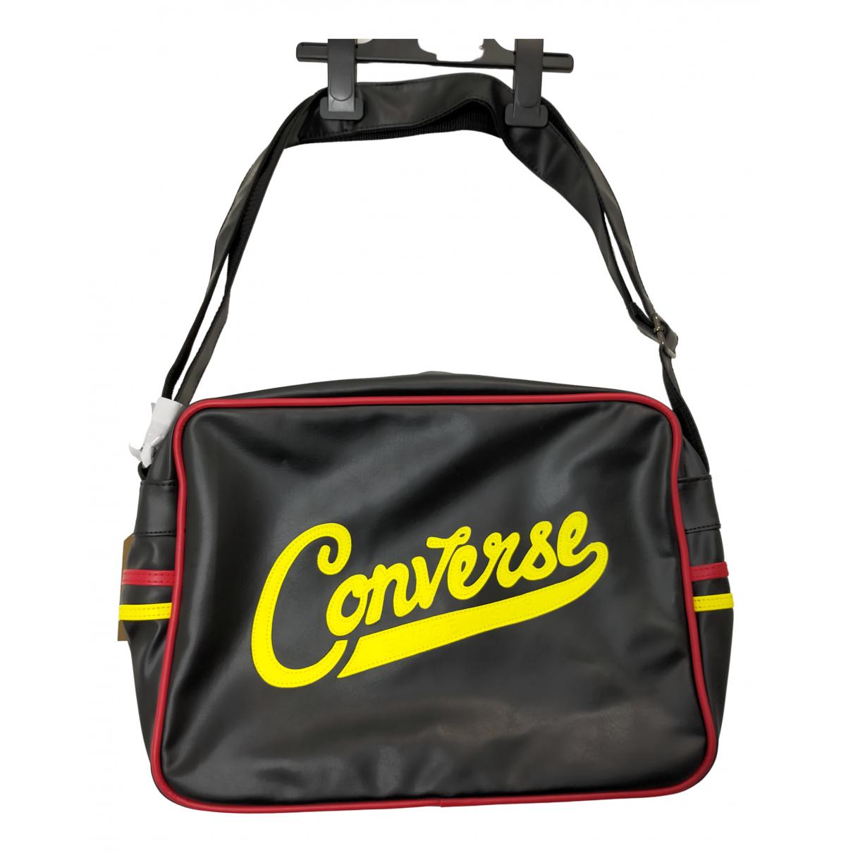 Converse \N Black Leather bag for Men \N