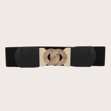 Link Buckle Obi Belt
