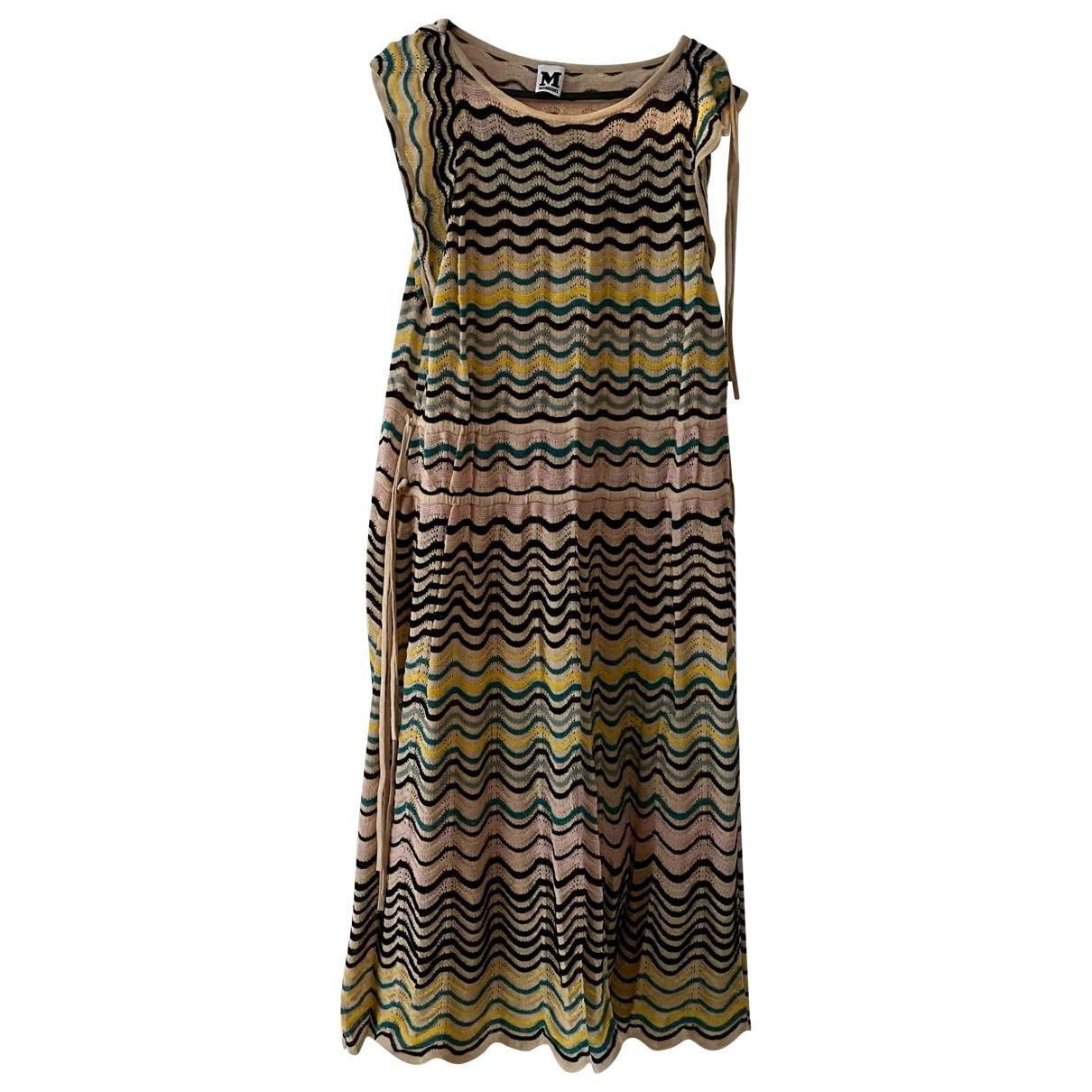 M Missoni \N Multicolour Cotton dress for Women 46 IT