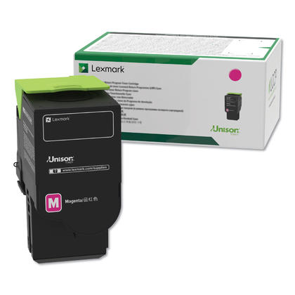Lexmark 78C10M0 Original Magenta Return Program Toner Cartridge 1400 Pages