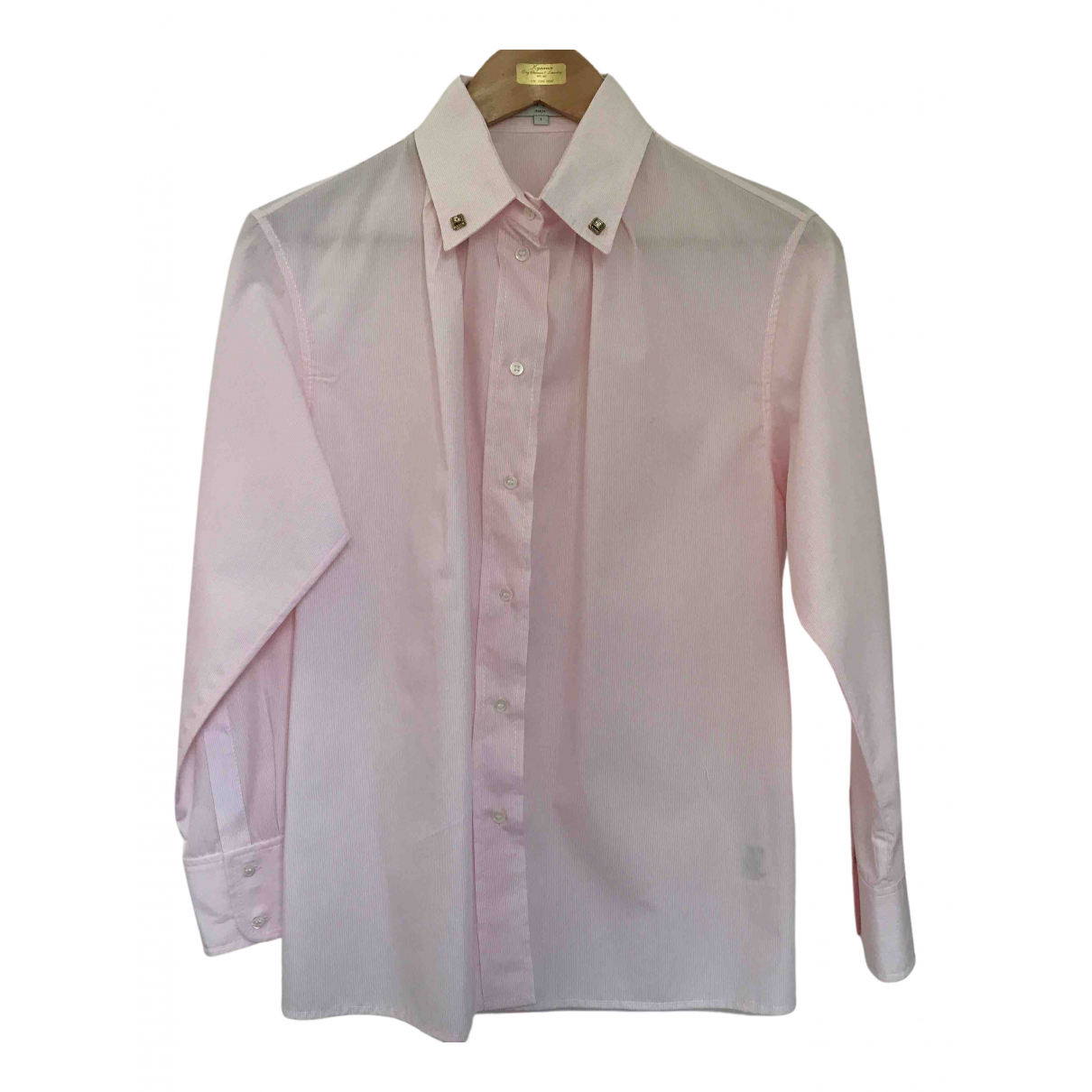 Sandro N Pink Cotton  top for Women 1 0-5