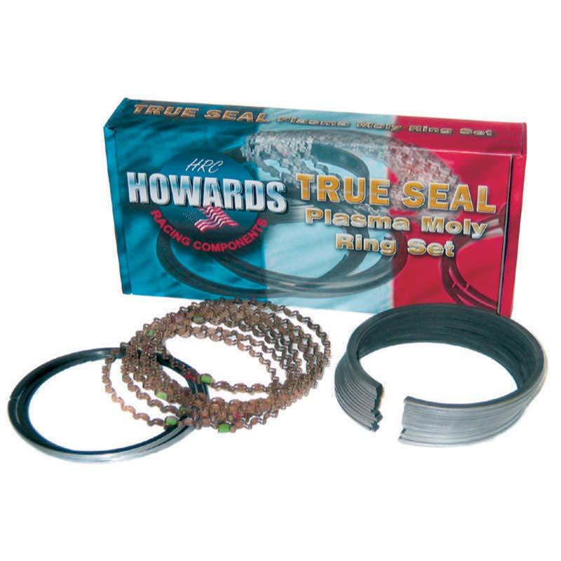 True Seal Piston Ring Set; 4.030 1/16 1/16 3/16 Plasma Moly Howards Cams HRC4860-4030-5 HRC4860-4030-5