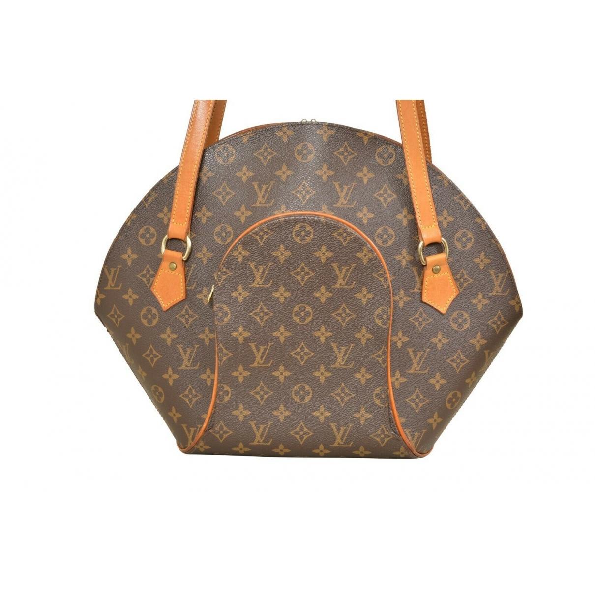 Louis Vuitton Ellipse Brown Cloth handbag for Women \N