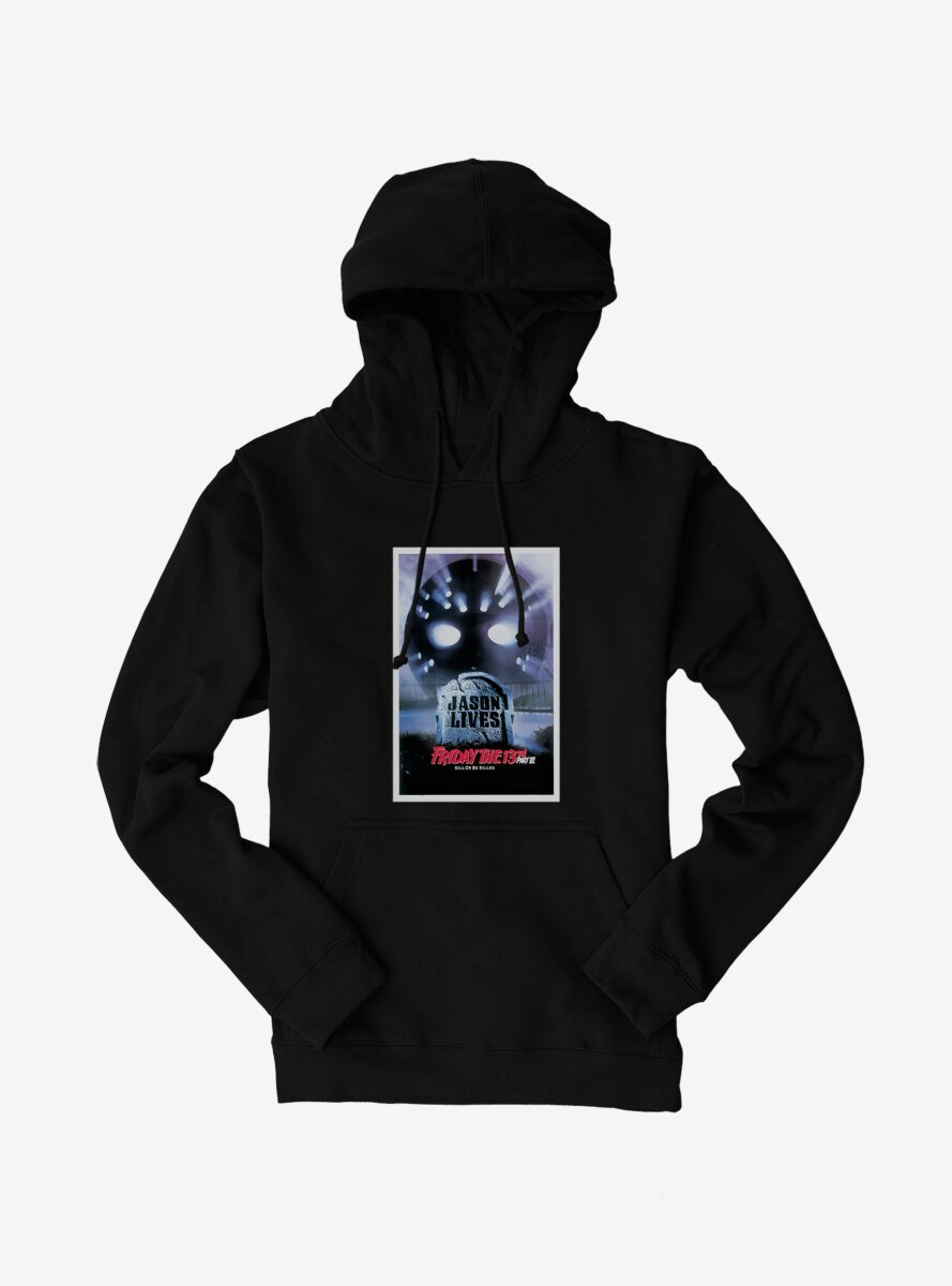 Friday The 13th Jason Lives Poster Hoodie